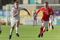 Wales U18 v Swansea City FC U18 friendly football match in Carmarthen, Wales, UK. Thursday 04 January 2018