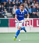AMSTELVEEN -  Bjorn Kellerman (Kampong)   tijdens  de  eerste finalewedstrijd van de play-offs om de landtitel in het Wagener Stadion, tussen Amsterdam en Kampong (1-1). Kampong wint de shoot outs.   COPYRIGHT KOEN SUYK