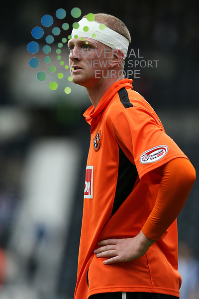 Garry Kenneth(18) in action during The Clydesdale Bank Premier League match between Kilmarnock and Dundee Utd at Rugby Park 02/10/10..Picture by Ricky Rae/universal News & Sport (Scotland).