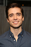 """Matt Doyle attend a press reception for the cast of The Tooting Arts Club production of """"Sweeney Todd''  at AOC L'aile ou la Cuisse on February 2, 2017 in New York City."""