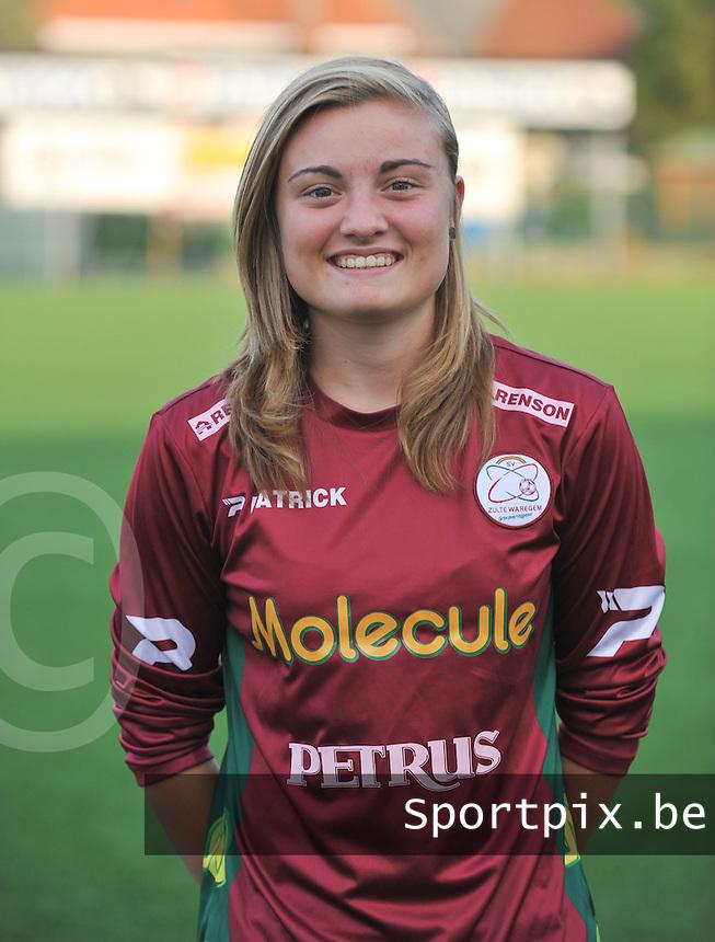 SV Dames Zulte Waregem : Annelies Van Elslander.foto DAVID CATRY / Vrouwenteam.be