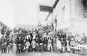 Iran 1939 .Celebration of the prohibition of the veil in Sakkez with the governor Seifulah Khan Ardalan.Iran 1939 .Celebration de l'interdiction de porter le voile a Sakkez en presence du gouverneur Seifulah Khan Ardalan