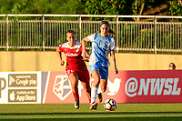 Boyds, MD - Saturday June 03, 2017:  Morgan Brian, Meggie Dougherty Howard during a regular season National Women's Soccer League (NWSL) match between the Washington Spirit and the Houston Dash at Maureen Hendricks Field, Maryland SoccerPlex