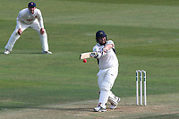 Paul Stirling hits four runs for Middlesex during Essex CCC vs Middlesex CCC, Specsavers County Championship Division 1 Cricket at The Cloudfm County Ground on 26th June 2017