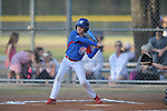 Jackson Newman plays for the Cubs in the Germantown Baseball League at Cameron Brown Park in Germantown, Tenn. on Monday, April 4, 2016.