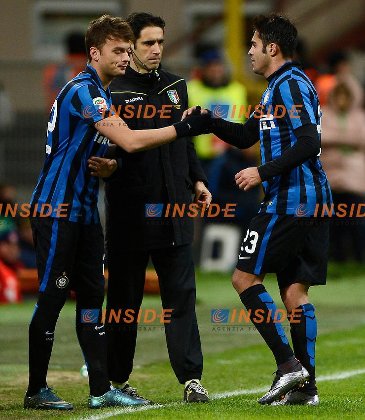 Adem Ljajic e Eder Inter<br /> Milano 03-02-2016 Stadio Giuseppe Meazza - Football Calcio Serie A Inter - Chievo Verona. Foto Giuseppe Celeste / Insidefoto