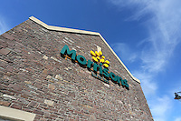 2016 07 18 Morrisons store in Brecon, Wales, UK