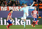 Atletico de Madrid's Lucas Hernandez (l) and PSV Eindhoven's Luuk de Jong during UEFA Champions League match. March 15,2016. (ALTERPHOTOS/Acero)