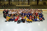 meet the Otters,  FFHA, hockey, Community Ice Arena, group photo
