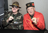 NEW YORK, NY - NOVEMBER 4: Sgt. Slaughter and Nikolai Volkoff attends the Big Event NY at LaGuardia Plaza Hotel on November 4, 2017 in Queens, New York.  Credit: George Napolitano/MediaPunch /NortePhoto.com