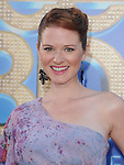 Sarah Drew attends The 20th Century Fox - GLEE 3D Concert World Movie Premiere held at The Regency Village theatre in Westwood, California on August 06,2011                                                                               © 2011 DVS / Hollywood Press Agency