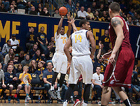 Berkeley, CA - January 4, 2015: California Golden Bears' 66-69 loss to Washington State during NCAA Men's Basketball game at Haas Pavilion.