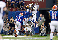 01 January 2010:  during Sugar Bowl at the SuperDome in New Orleans, Louisiana.  Florida defeated Cincinnati, 51-24.