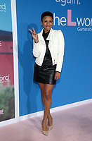 """2 December 2019 - Los Angeles, California - Ariana Debose. Premiere Of Showtime's """"The L Word: Generation Q"""" held at Regal LA Live. Photo Credit: FS/AdMedia /MediaPunch"""