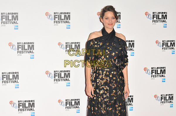 Marion Cotillard at the &quot;It's Only The End of The World&quot; 60th BFI London Film Festival special presentation screening, Odeon Leicester Square cinema, Leicester Square, London, England, UK, on Friday 14 October 2016.<br /> CAP/CAN<br /> &copy;CAN/Capital Pictures