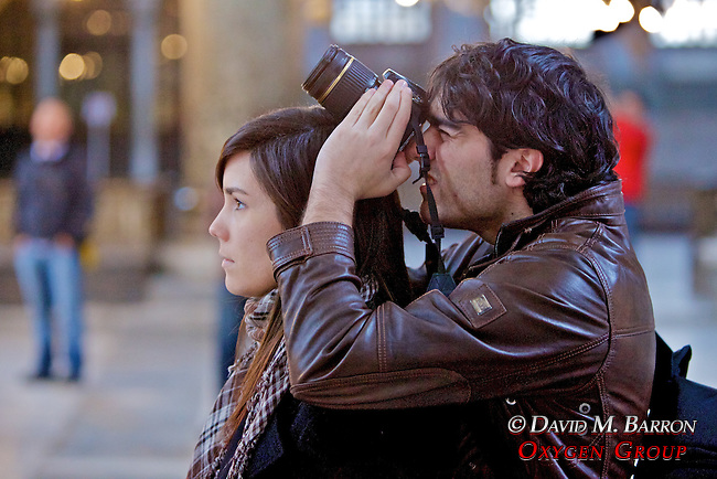 Tourists Photographing at Hagia Sofia