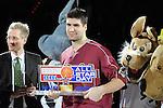 Mannheim 17.01.2009, der MVP (Most Valuable Player) des Spieles BBL Team Nord Darren Fenn im Spiel S&uuml;d - Nord beim Basketball All Star Day 2009<br /> <br /> Foto &copy; Rhein-Neckar-Picture *** Foto ist honorarpflichtig! *** Auf Anfrage in h&ouml;herer Qualit&auml;t/Aufl&ouml;sung. Belegexemplar erbeten.