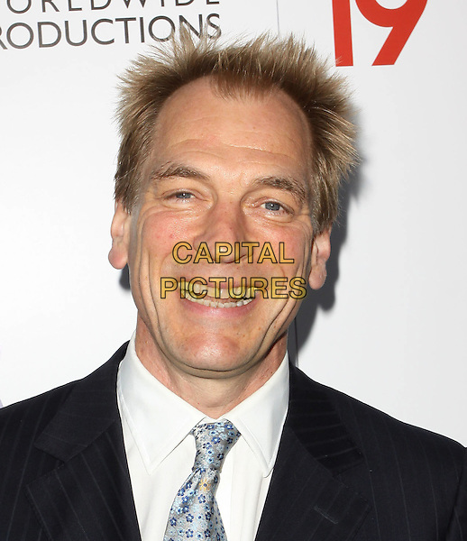 JULIAN SANDS.The BritWeek 2010 Champagne Launch held At The British General Consul Residence, Los Angeles, California, USA..April 20th, 2010.headshot portrait black white blue tie smiling .CAP/ADM/KB.©Kevan Brooks/AdMedia/Capital Pictures.