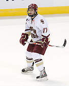 Brian Gibbons (BC - 17) - The Boston College Eagles defeated the Yale University Bulldogs 9-7 in the Northeast Regional final on Sunday, March 28, 2010, at the DCU Center in Worcester, Massachusetts.
