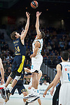 Real Madrid Walter Tavares and Fenerbahce Dogus /e24/ during Turkish Airlines Euroleague match between Real Madrid and Fenerbahce Dogus at Wizink Center in Madrid , Spain. March 02, 2018. (ALTERPHOTOS/Borja B.Hojas)