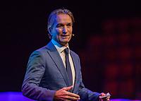 Rotterdam, Netherlands, December 16,  2017, Topsportcentrum,  KNLTB Jaarcongres,  Mark Koevermans kenode speaker<br /> Photo: Tennisimages/Henk Koster