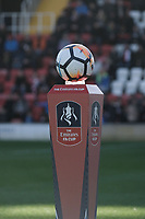 The FA Cup match ball during Woking vs Bury, Emirates FA Cup Football at The Laithwaite Community Stadium on 5th November 2017