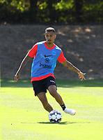 Evan N'Dicka (Eintracht Frankfurt) - 18.07.2018: Eintracht Frankfurt Training, Commerzbank Arena