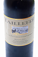Taillefer, le Dominican, Vin de Pays de la Cote Vermeille, Rancio Sec. Bottle.