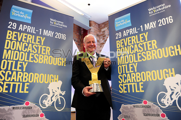 Picture by Simon Wilknson/SWpix.com 09/10/2015 - Cycling Tour de Yorkshire - 2016 host town city locations -<br /> Patrick Mulligan Craven<br /> copyright picture- Simon Wilkinson - simon@swpix.com