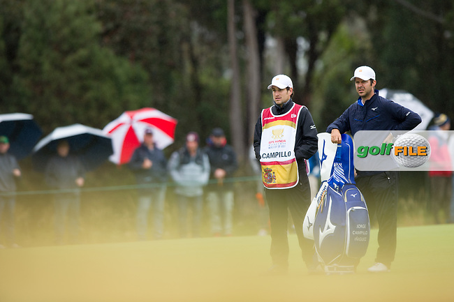 Jorge Campillo (ESP) during the second day of the World cup of Golf, The Metropolitan Golf Club, The Metropolitan Golf Club, Victoria, Australia. 23/11/2018<br /> Picture: Golffile | Anthony Powter<br /> <br /> <br /> All photo usage must carry mandatory copyright credit (© Golffile | Anthony Powter)
