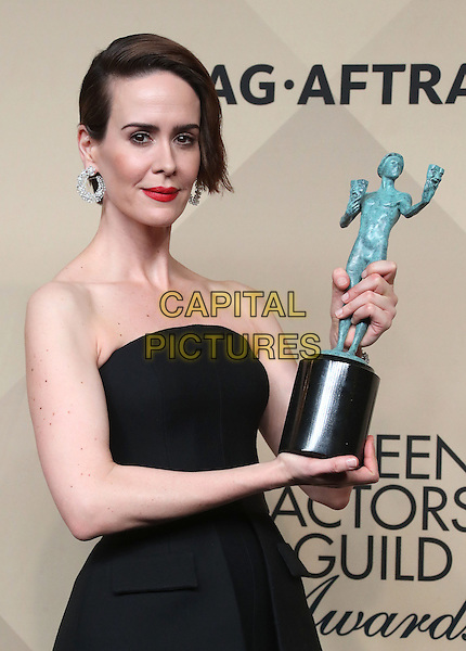 29 January 2017 - Los Angeles, California - Sarah Paulson. 23rd Annual Screen Actors Guild Awards held at The Shrine Expo Hall. <br /> CAP/ADM/FS<br /> &copy;FS/ADM/Capital Pictures