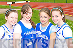 Tralee Harriers relay team at the Kerry Athletic Championships in Castleisland on Sunday was l-r: Hannah Ryan, Katie Liston, Michaela O'Connor and Louise O'Connor   Copyright Kerry's Eye 2008