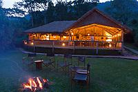 Gorilla Forrest camp, Bwindi, Impenetrable National Forest, Uganda, East Africa