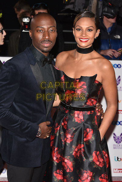 Alesha Dixon and Azuka Ononye<br /> Pride of Britain Awards, Grosvenor House Hotel, London, England  on October 31,  2016<br /> CAP/Phil Loftus<br /> &copy;Phil Loftus/Capital Pictures