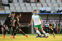 Zach Elbouzedi of Republic of Ireland in action during Republic Of Ireland Under-21 vs Mexico Under-21, Tournoi Maurice Revello Football at Stade Parsemain on 6th June 2019