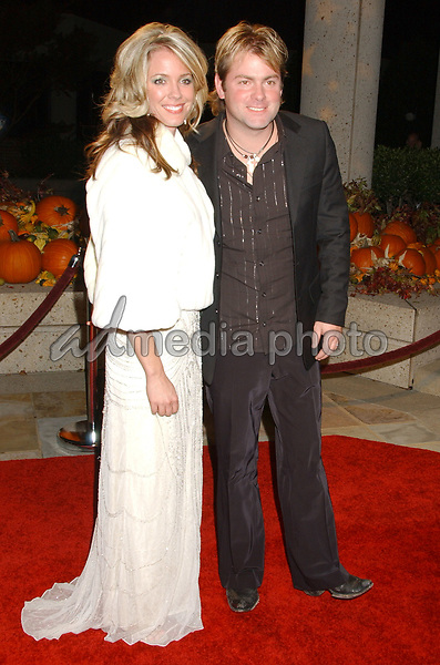 06 November 2007 - Nashville, Tennessee - Andy Griggs and wife. BMI Country Awards 2007 held at BMI Headquarters. Photo Credit: Laura Farr/AdMedia