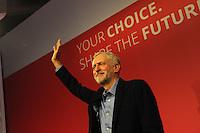 Jeremy Corbyn Labour Party leadership election victory 12.9.15