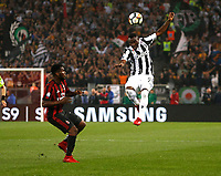Kwadwo Asamoah of Juventus  during the  Coppa Italia ( Tim Cup) final soccer match,  Ac Milan  - Juventus Fc       at  the Stadio Olimpico in Rome  Italy , 09 May 2018