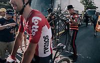 old vs. new<br /> <br /> 104th Tour de France 2017<br /> Stage 19 - Embrun &rsaquo; Salon-de-Provence (220km)