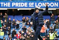 Chelsea manager Frank Lampard <br /> <br /> Photographer Stephanie Meek/CameraSport<br /> <br /> The Premier League - Chelsea v Everton - Sunday 8th March 2020 - Stamford Bridge - London<br /> <br /> World Copyright © 2020 CameraSport. All rights reserved. 43 Linden Ave. Countesthorpe. Leicester. England. LE8 5PG - Tel: +44 (0) 116 277 4147 - admin@camerasport.com - www.camerasport.com