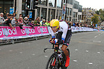Jan Andrej Cully (SVK) in action during the Men Elite Individual Time Trial of the UCI World Championships 2019 running 54km from Northallerton to Harrogate, England. 25th September 2019.<br /> Picture: Seamus Yore | Cyclefile<br /> <br /> All photos usage must carry mandatory copyright credit (© Cyclefile | Seamus Yore)