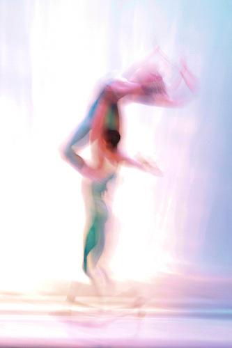 Rebecca Brimall and Grigori Arakelyan perform Nevada Ballet Theatre's 'Equinox' at the Henderson Pavilion in Henderson, NV.