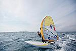 ISAF Sailing World Cup Hyères - Fédération Française de Voile. RSX Men, Julien Bontemps.