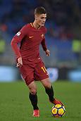 1st December 2017, Stadio Olimpico, Rome, Italy; Serie A football. AS Roma versus Spal;  Patrik Schick Roma.