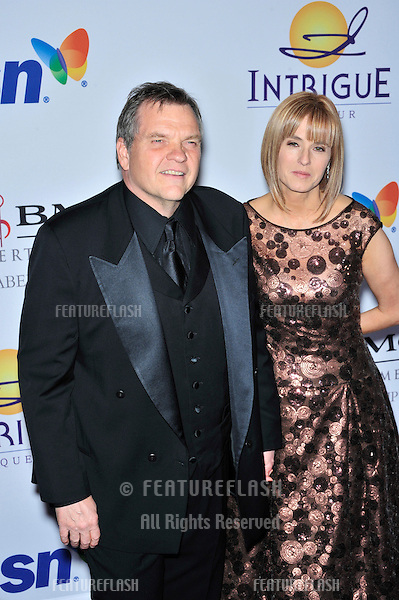 Meat Loaf & date at music mogul Clive Davis' annual pre-Grammy party at the Beverly Hilton Hotel..February 9, 2008  Los Angeles, CA.Picture: Paul Smith / Featureflash