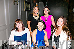 Farewell party for Colette Leen, Curran, leaving for Canada with friends at No.4 the Square on Saturday Front l-r Janice O'Reilly, Colette Leen, Niamh Culhane Back l-r Marguerite Tarrant, Ayshe Djemal