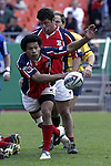 30 April 2005: Philadelphia's Roger Tuamoheloa. The Kansas City Blues defeated the Philadelphia Whitemarsh RFC 41-14 at the Arrowhead Stadium in Kansas City, Missouri in a Rugby Super League regular season game. .