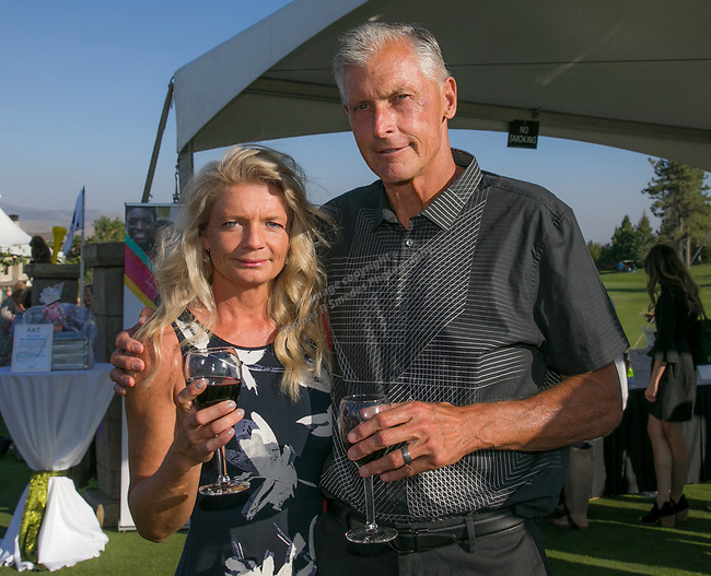 Dorthe and Don Johnston during the Art of Childhood Gala and Fundraiser at Montreux Golf and Country Club on Friday, August 24, 2018.