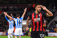Callum Wilson of AFC Bournemouth celebrates scoring the first goal during AFC Bournemouth vs Huddersfield Town, Premier League Football at the Vitality Stadium on 4th December 2018