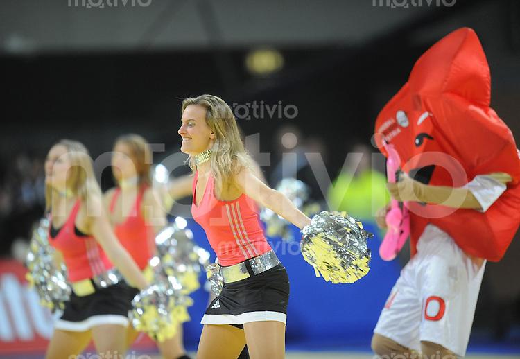 Handball EM Herren 2010 Vorrunde Deutschland - Polen 19.01.2010 Cheerleaders